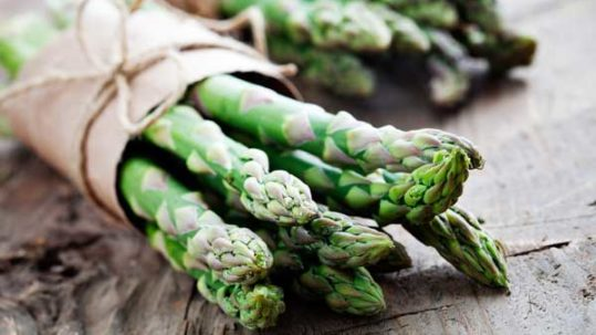 Year of Health 2017 - April is for asparagus & arugula
