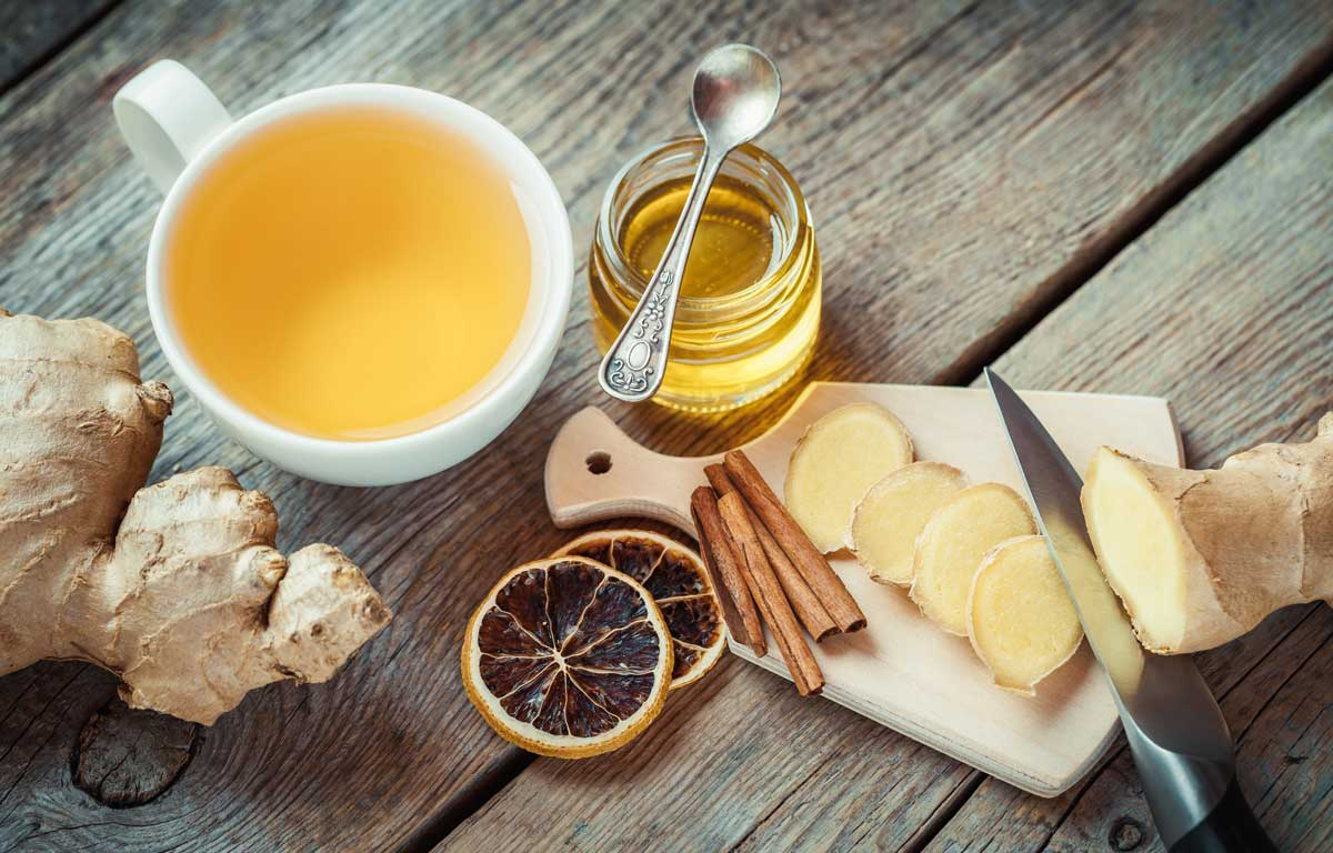 Ginger tea for nausea in pregnancy