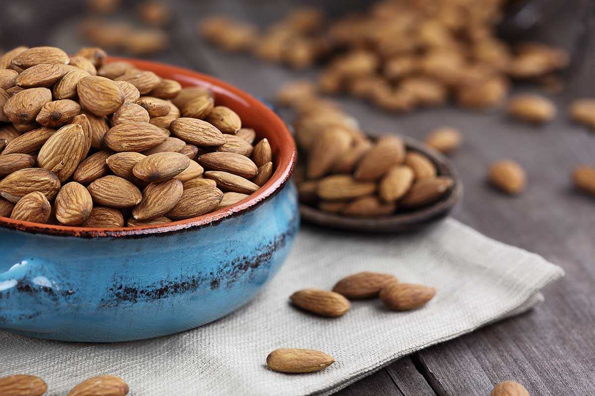 Almonds for heart health
