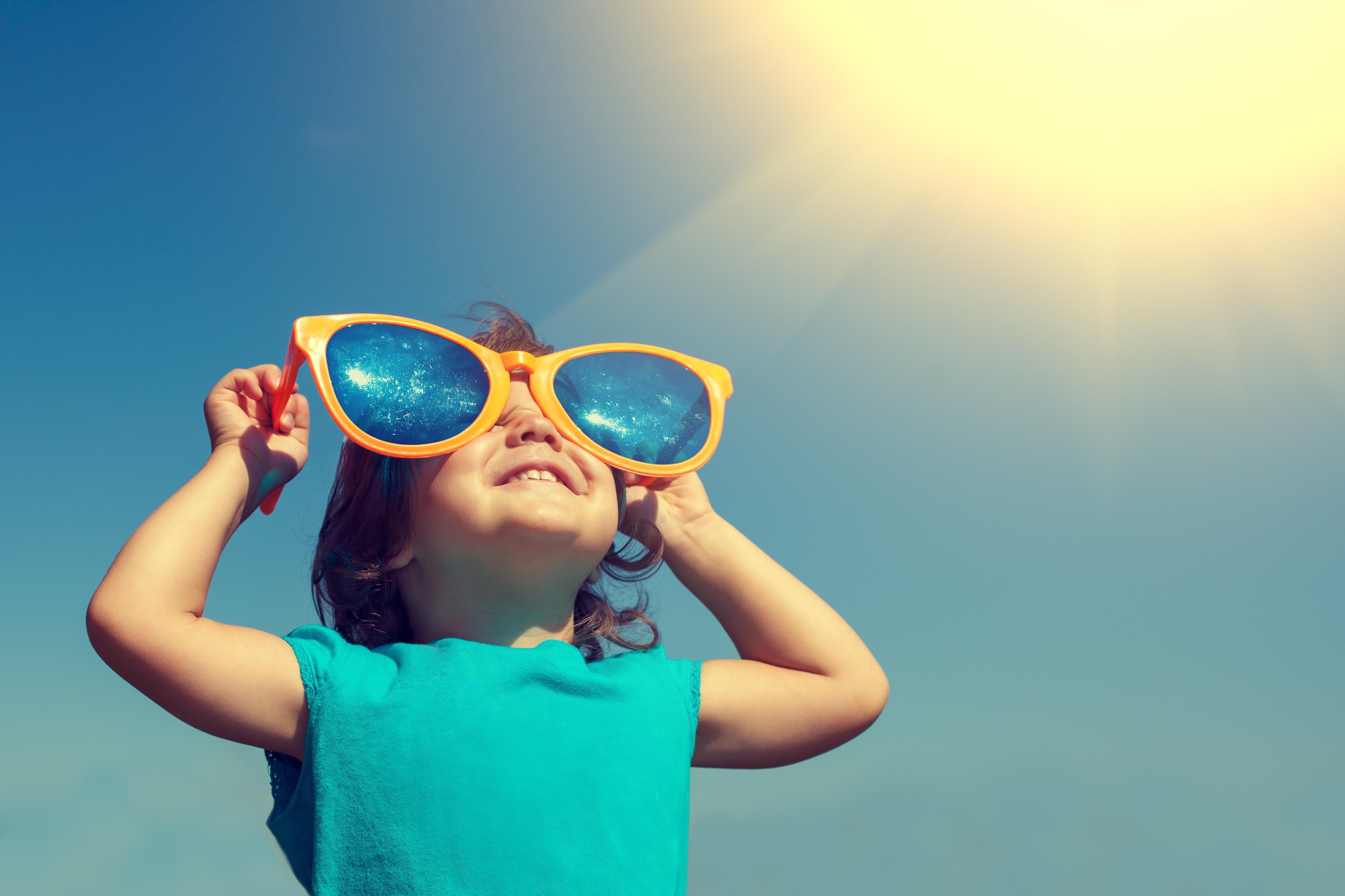 child outdoors vitamin d